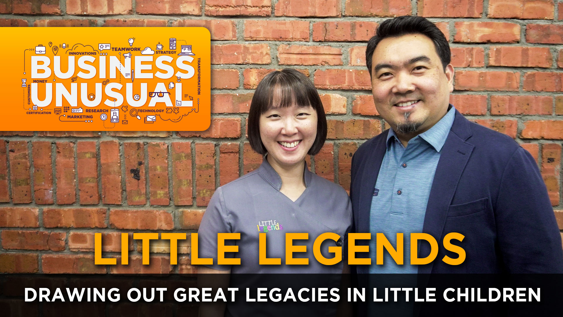Business Unusual Ep.06: Drawing Out Great Legacies in Little Children